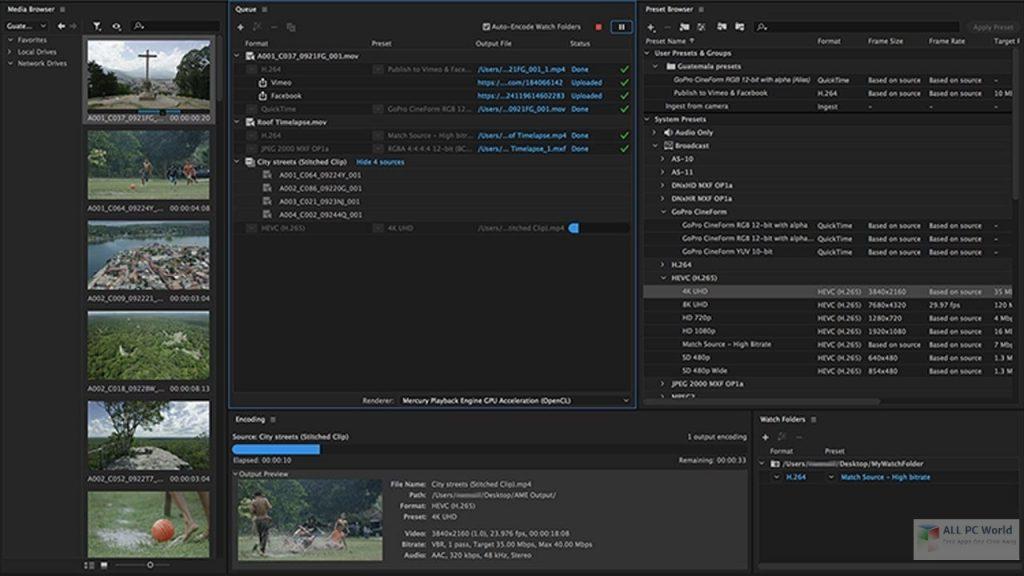 Media Encoder 2021 Free Download