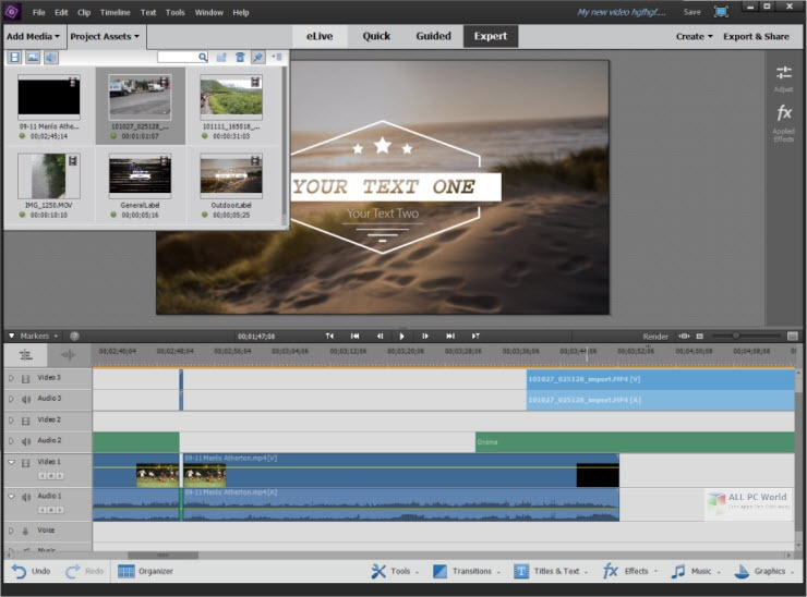 Adobe Premiere Elements 2021 Direct Download Link