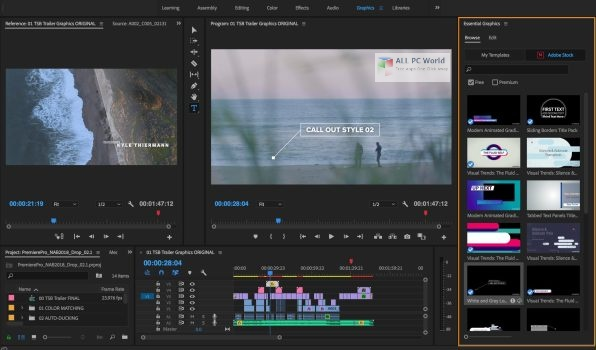 Adobe Premiere Pro 2020 v14.4 One Click Download