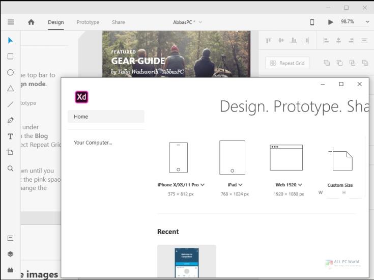 Adobe XD CC 2020 v33.1 One-Click Download