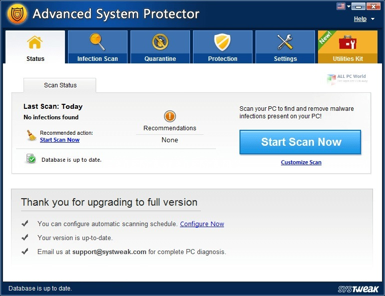Advanced System Protector 2.3 Direct Download Link