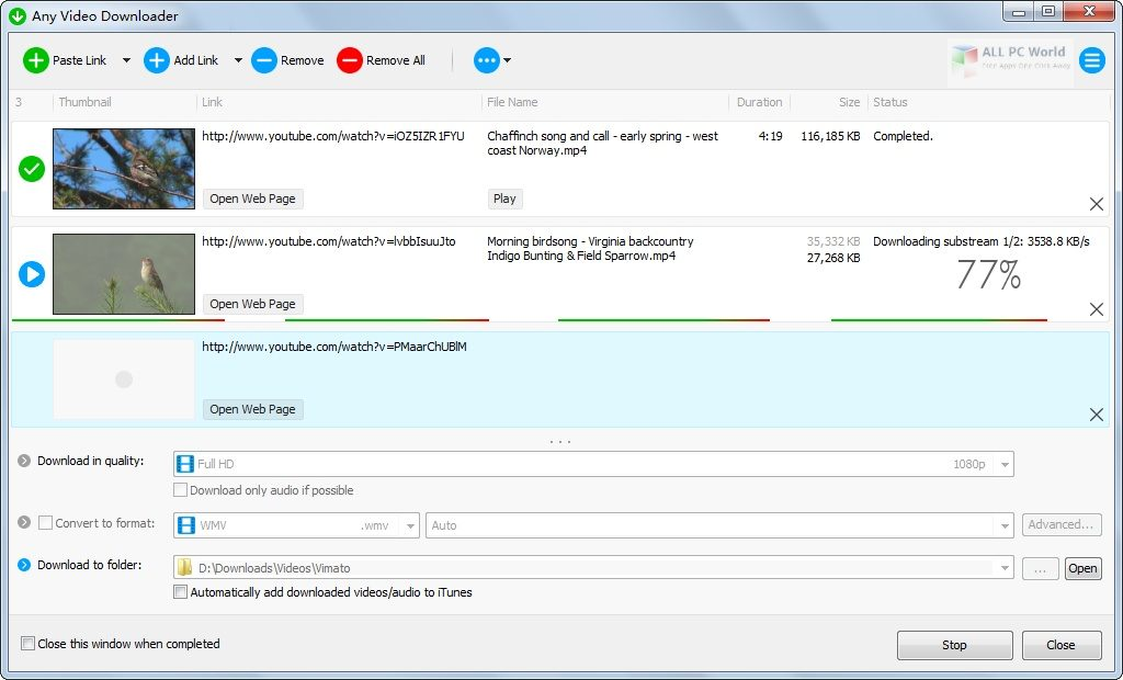 Any Video Downloader 7.19