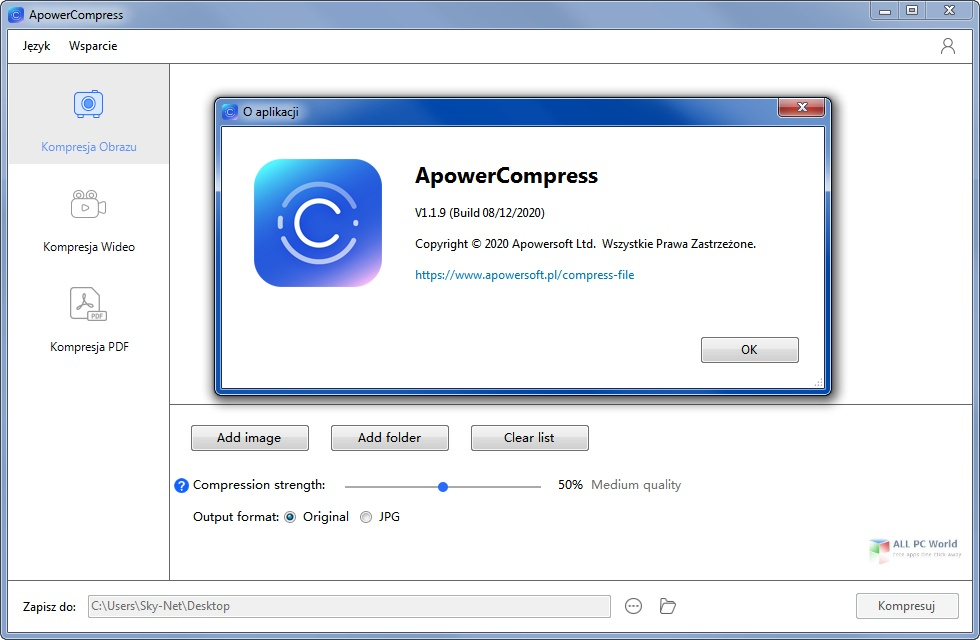 Apowersoft ApowerCompress 1.1.9 Free Download