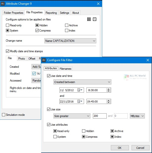 Attribute Changer 10.0 Direct Download Link