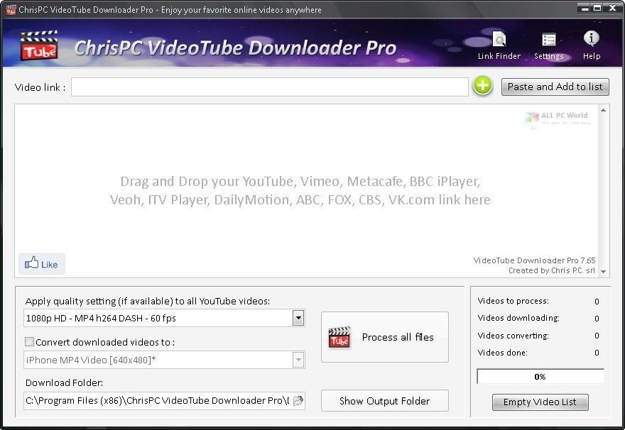 ChrisPC VideoTube Downloader Pro 12.09 Full Version Free Download