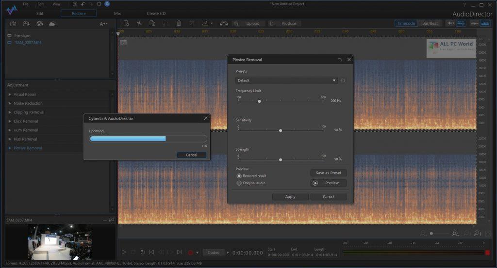 CyberLink AudioDirector 2020 Direct Download Link