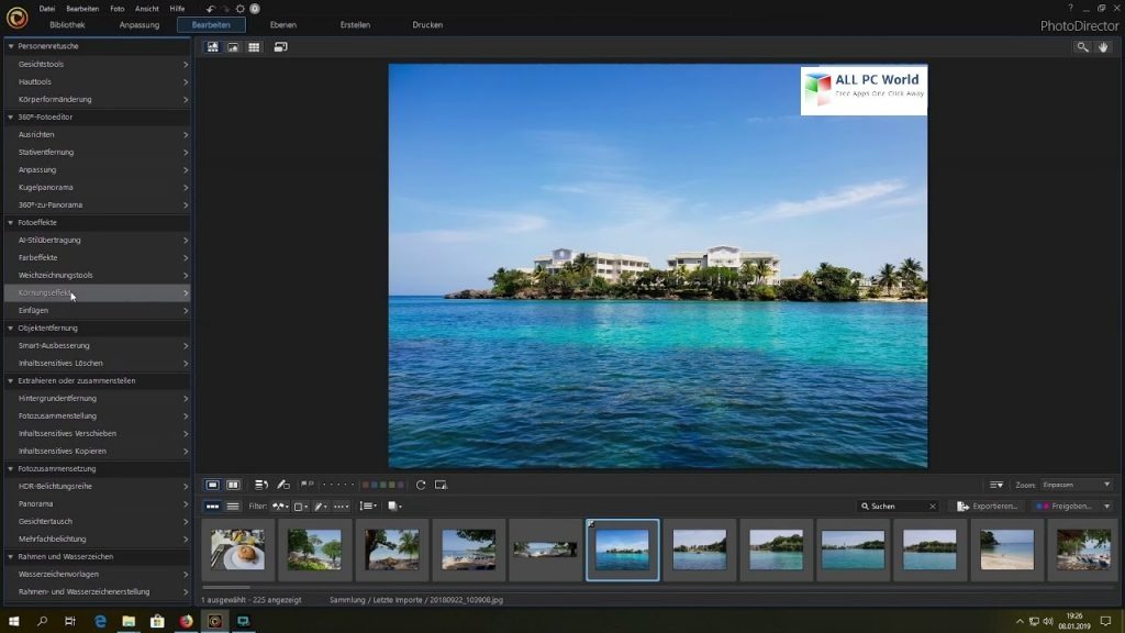 CyberLink PhotoDirector Ultra 12.0 Free Download