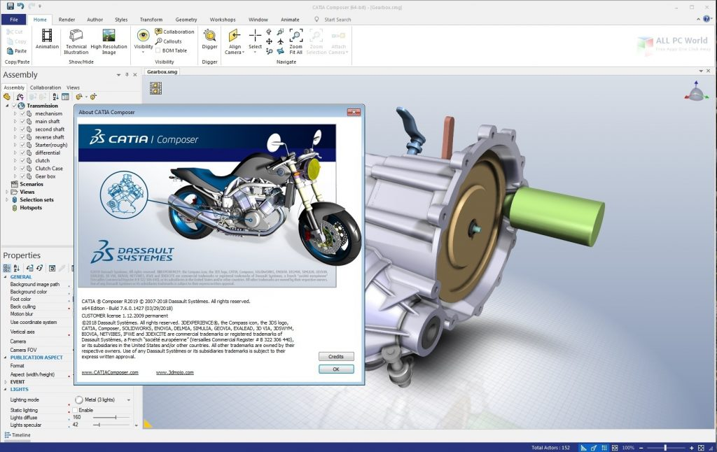 DS CATIA Composer R2020 Direct Download Link