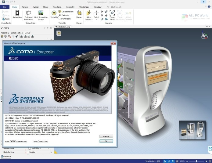 DS CATIA Composer R2020 Free Download