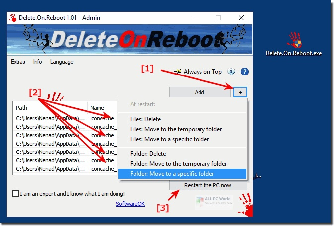 Delete.On.Reboot 1.66 One-Click Download