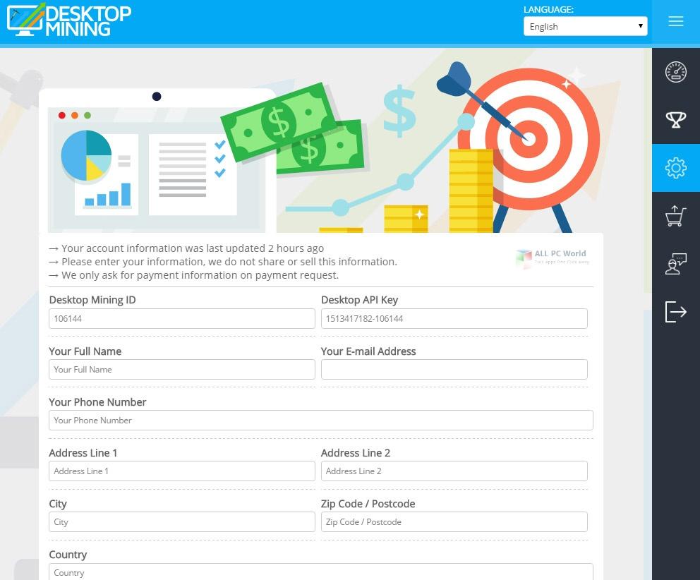 Desktop Mining 4.0 One-Click Download
