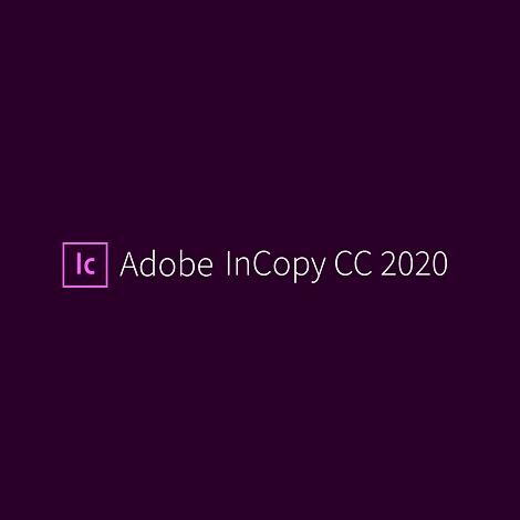 Download Adobe InCopy CC 2020 v15.1.2