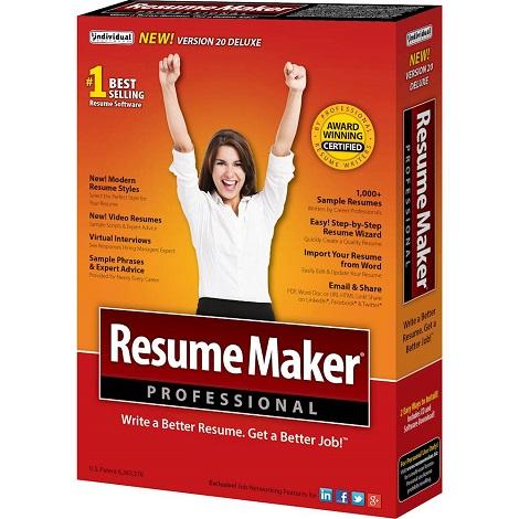 Download ResumeMaker Professional Deluxe 20.1.2