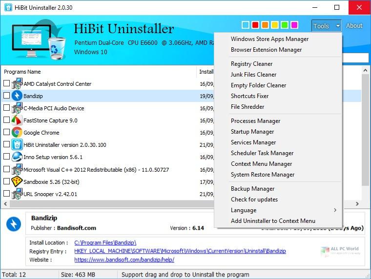 Hibit Uninstaller 2.5 Free Download