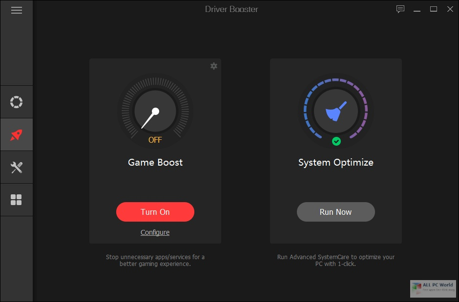 IObit Driver Booster Pro 8.0 One-Click Download
