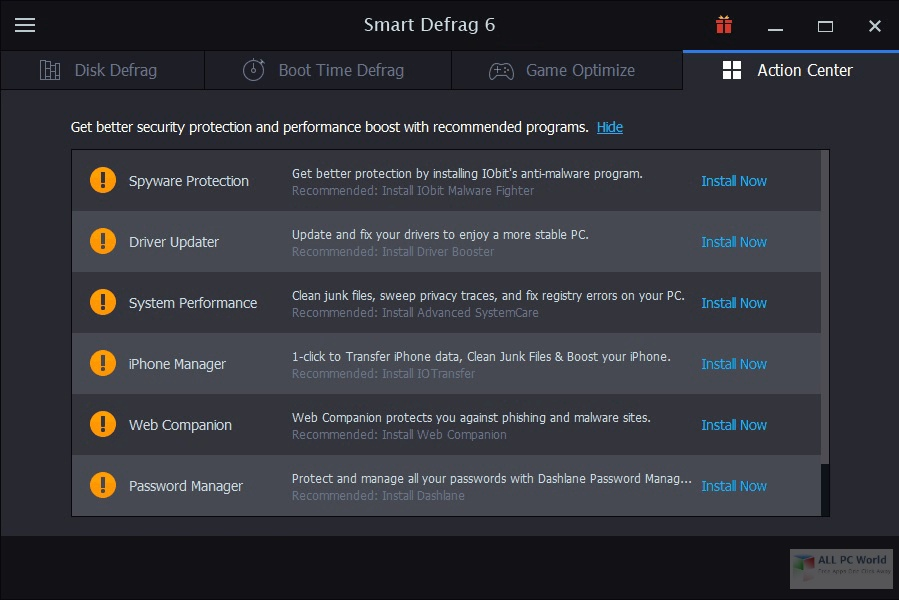 IObit Smart Defrag Pro 6.6 Free Download