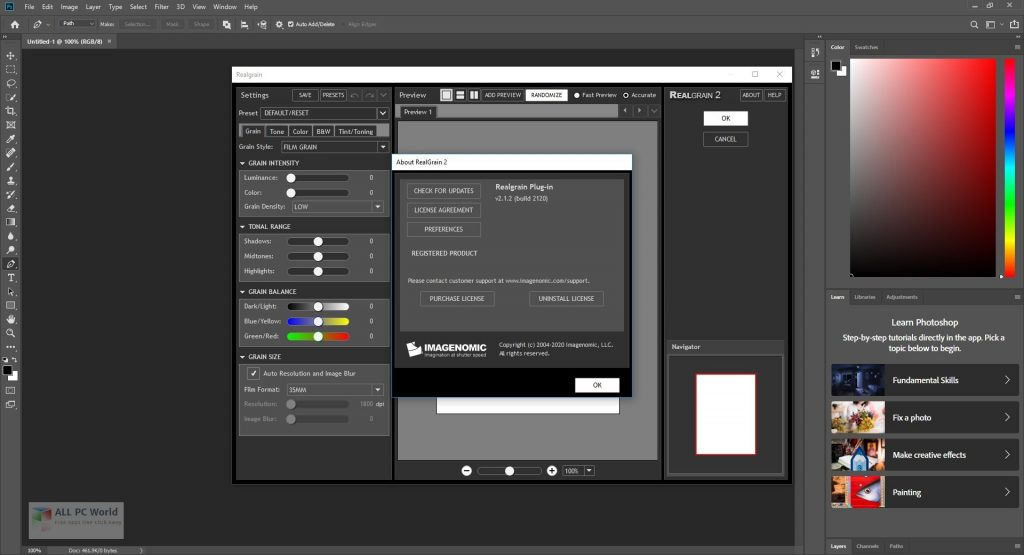 Imagenomic Realgrain 2.1.2 Free Download
