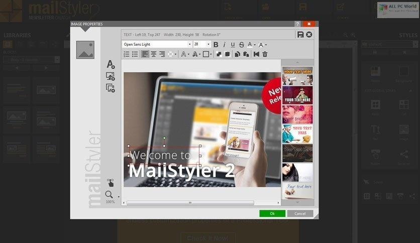 MailStyler Newsletter Creator 2020 v2.8 One-Click Download