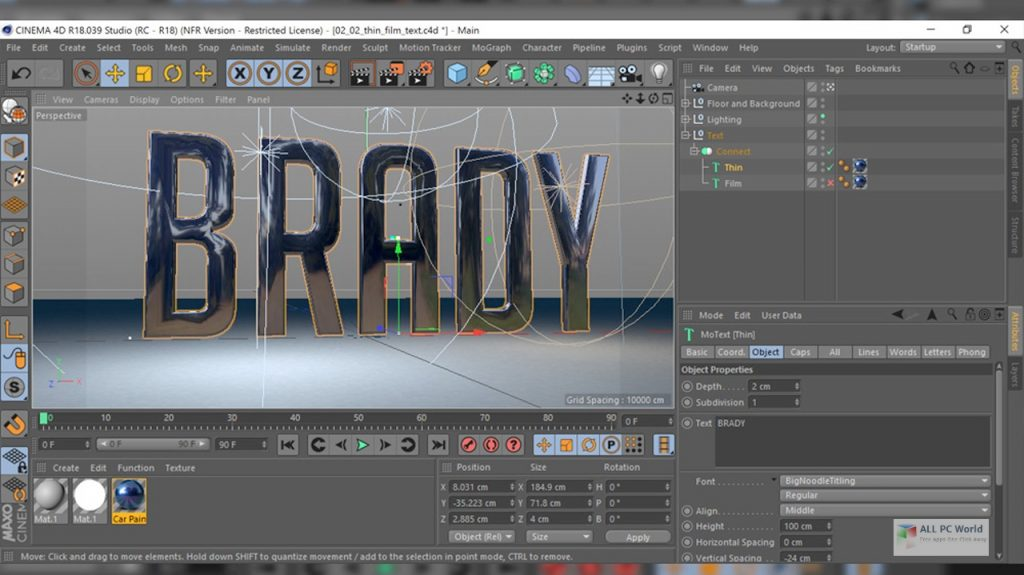 Maxon CINEMA 4D S23 Direct Download Link