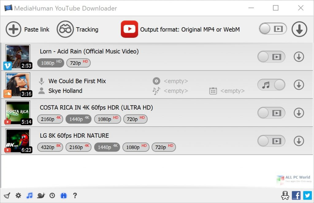 MediaHuman YouTube Downloader 3.9 Direct Download Link