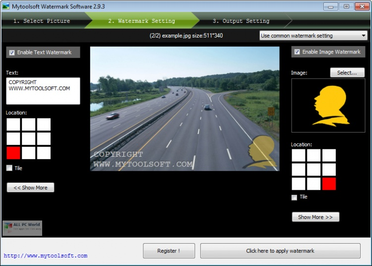 Mytoolsoft Watermark Software 5.0 Direct Download Link