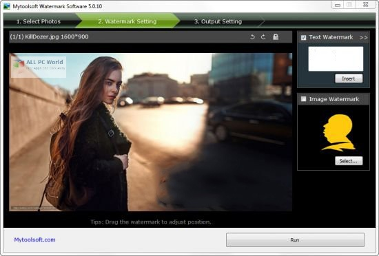 Mytoolsoft Watermark Software 5.0 Free Download