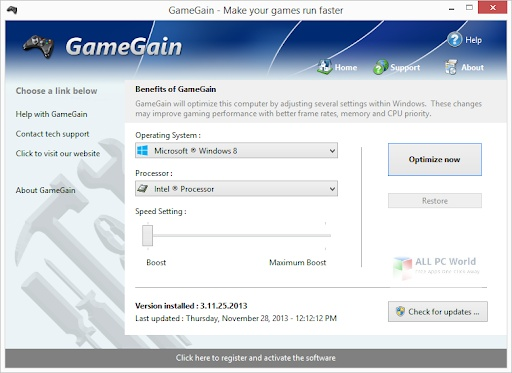 PGWare GameGain 4.9 Direct Download Link