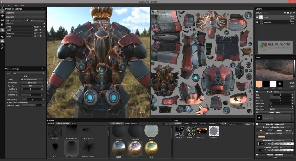 Substance Painter 2020 v6.2 One-Click Download