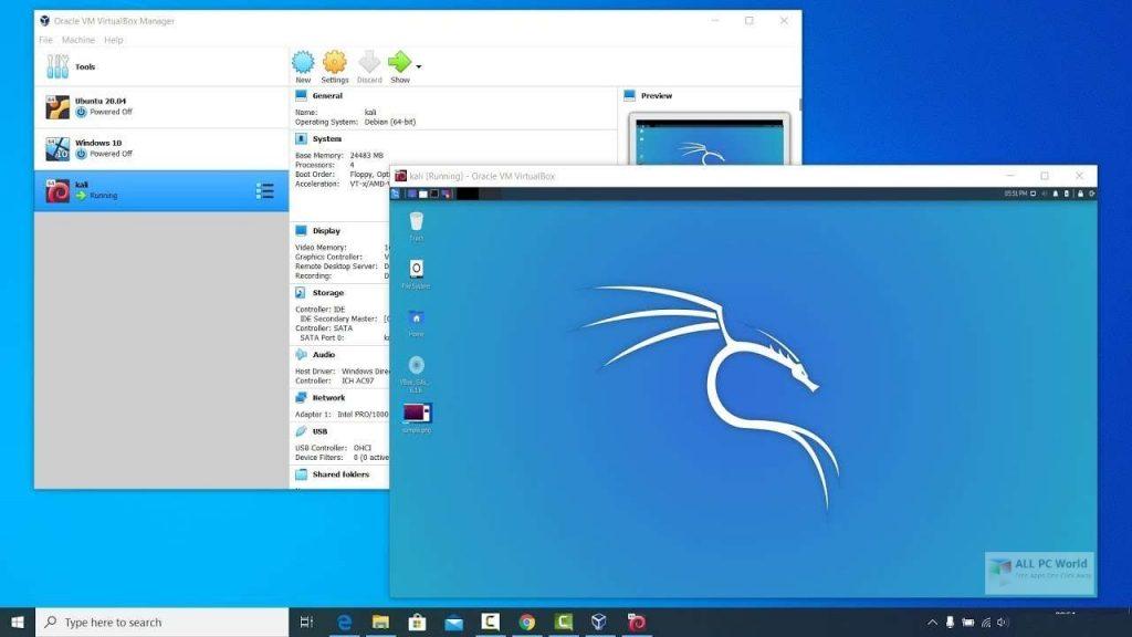 VirtualBox 2020 One-Click Download