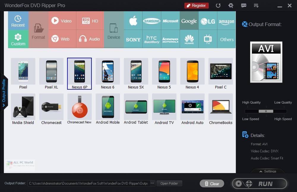 WonderFox DVD Ripper Pro 16.0 One-Click Download