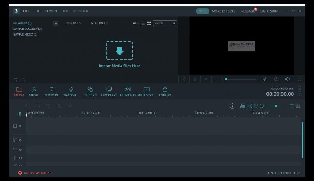 Wondershare Filmora 2020 v9.6 Direct Download Link