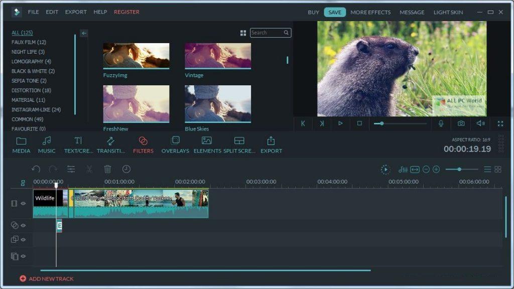 Wondershare Filmora 9.6 Free Download