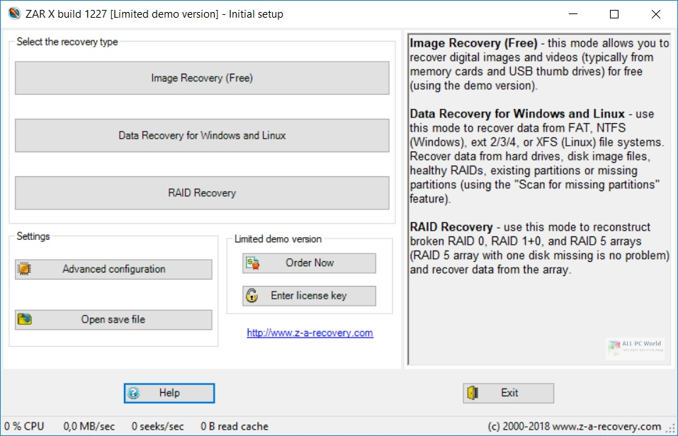 Zero Assumption Recovery 10.0 Direct Download Link