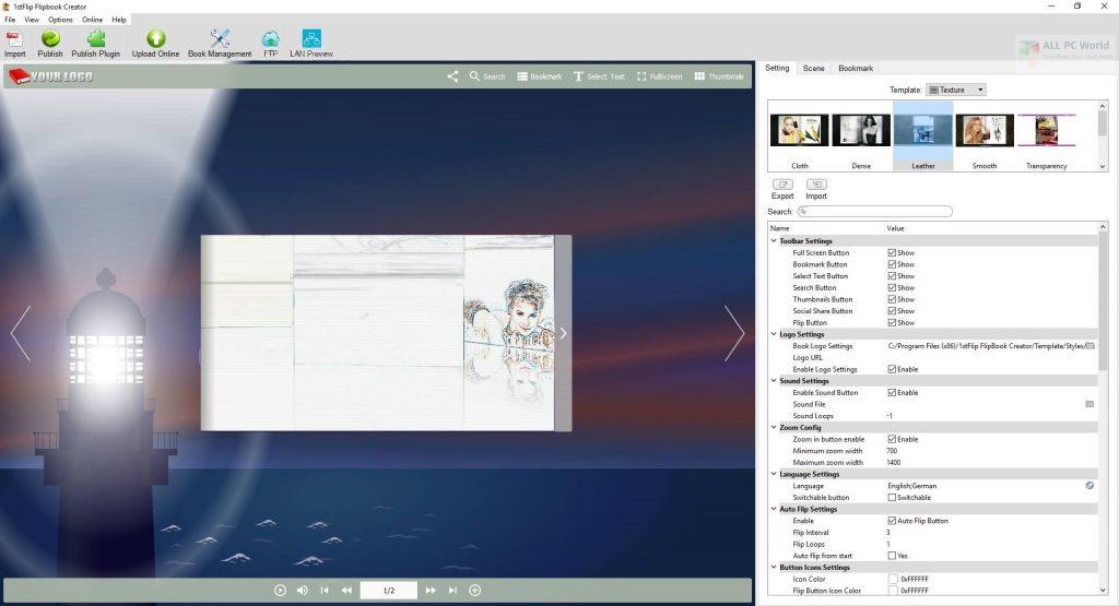 1stFlip FlipBook Creator Pro 2.7.4 Direct Download Link