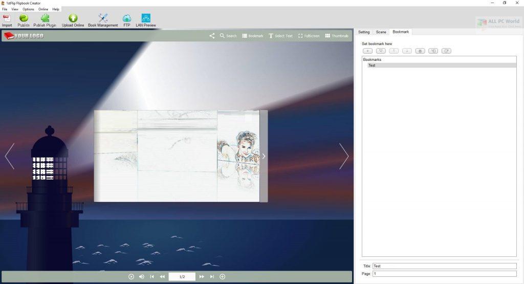 1stFlip FlipBook Creator Pro 2.7.4 One-Click Download