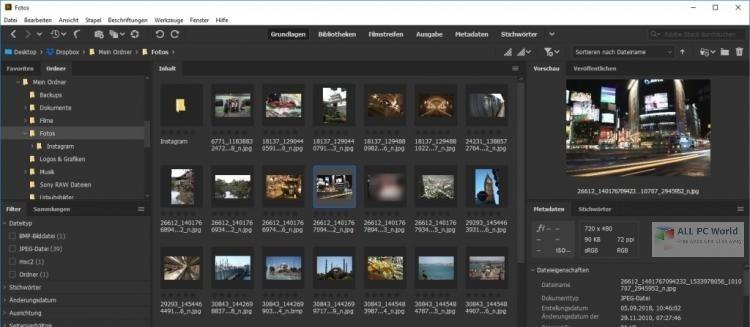 Adobe Bridge 2021 v11.0 Free Download