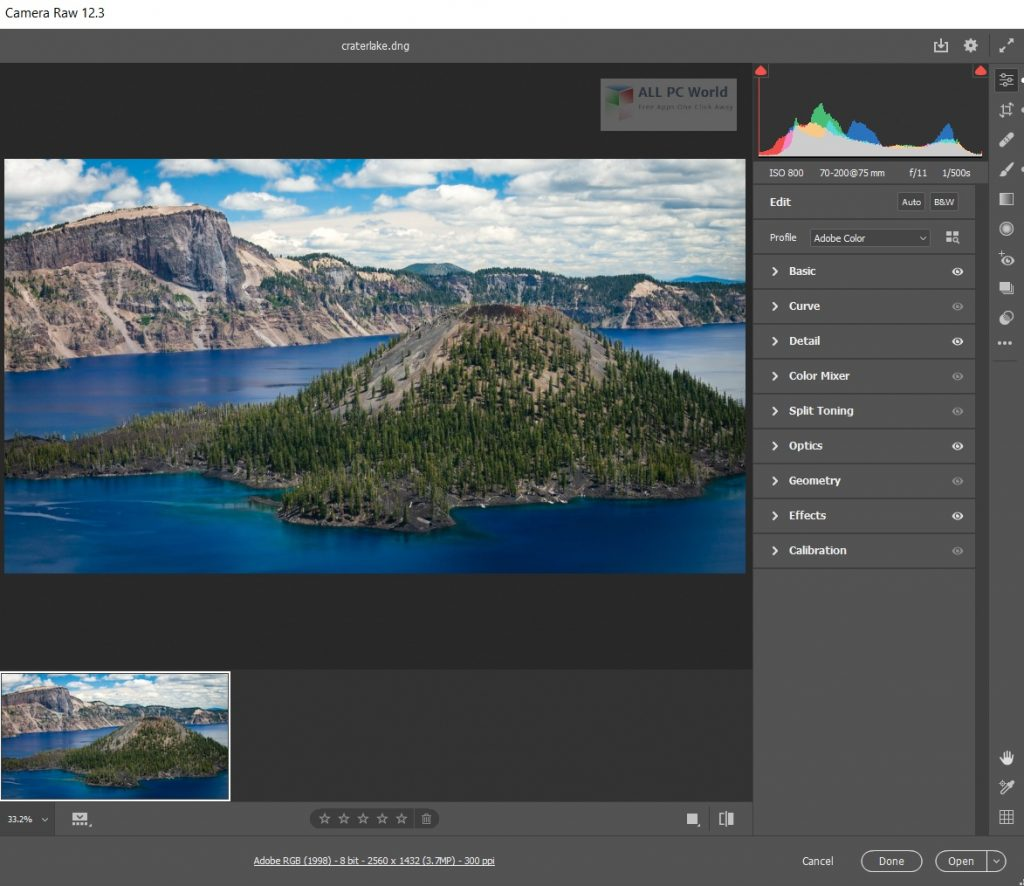 Adobe Camera Raw 13 Direct Download Link