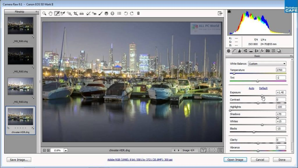 Adobe Camera Raw 13 Full Version Download - AllPCWorld