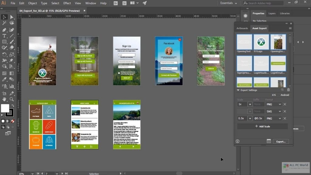 Adobe Illustrator CC 2021 v25.1 One-Click Download