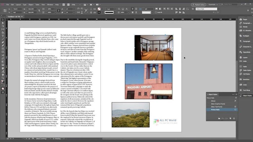 Adobe InDesign CC 2020 v16.0 Direct Download Link