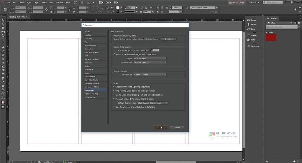 Adobe InDesign CC 2020 v16.0 One-Click Download
