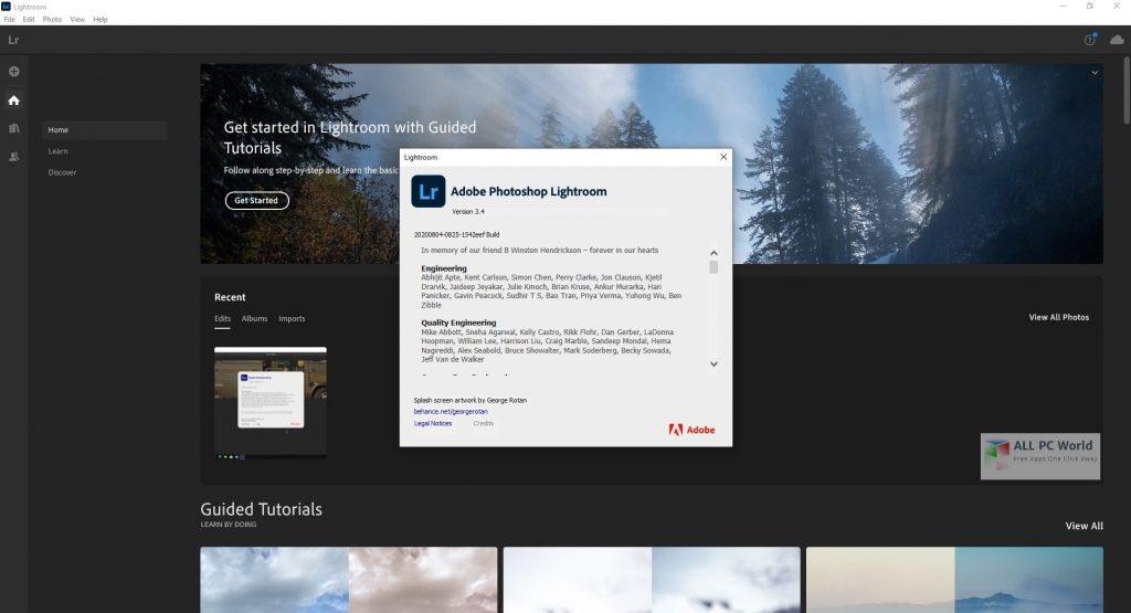 Adobe Photoshop Lightroom Classic CC 2021 v10.0 Direct Download Link