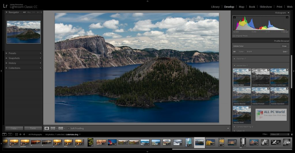 Adobe Photoshop Lightroom Classic CC 2021 v10.0 One-Click Download