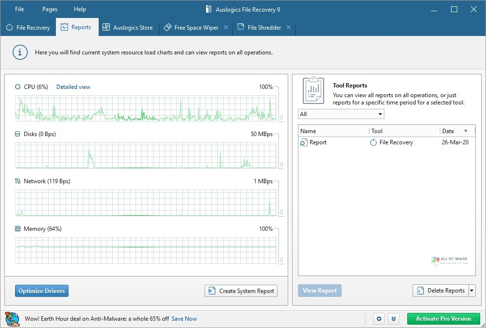Auslogics File Recovery 9.5 Direct Download LInk