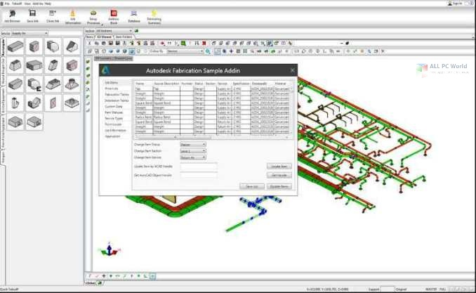 Autodesk Fabrication CAMduct 2021