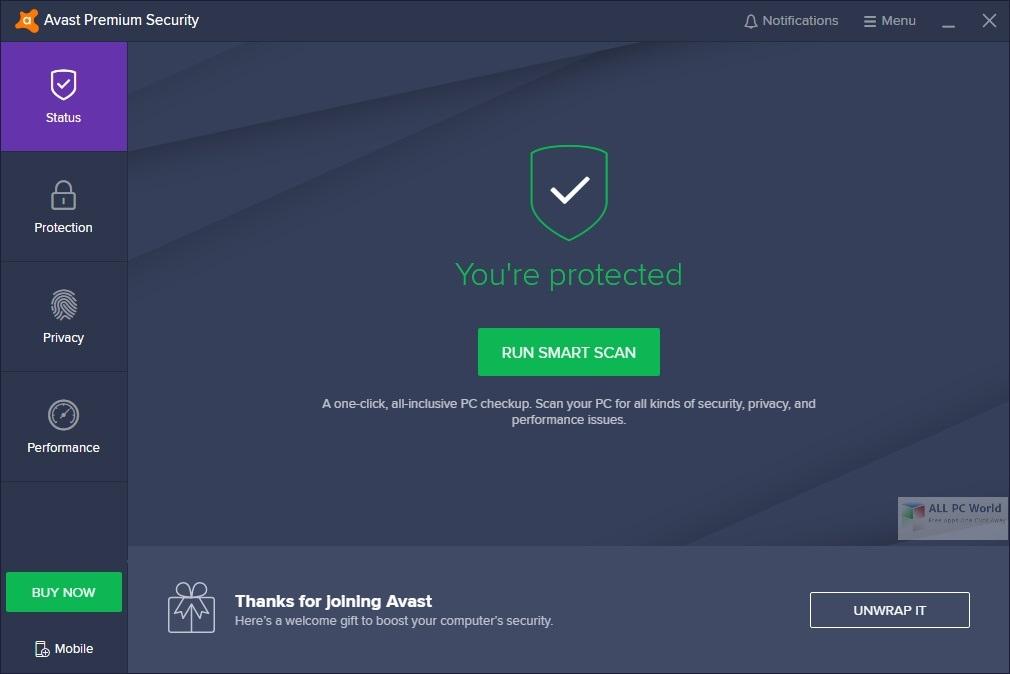 Avast Premium Security 20.8 Free Download