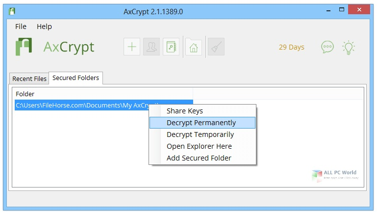 AxCrypt Business Premium 2.1 One-Click Download