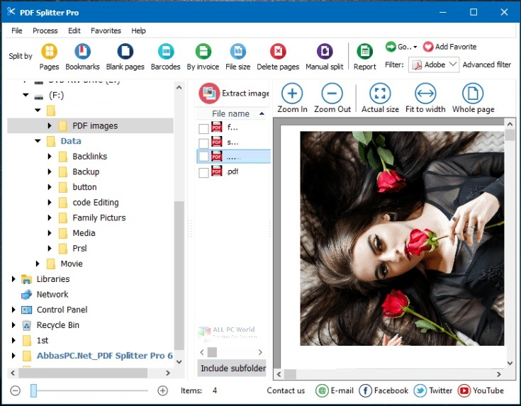 Coolutils PDF Splitter Pro 6.1 Free Download