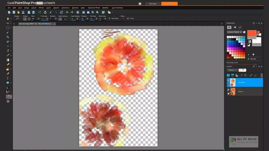 Corel PaintShop Pro 2021 Ultimate 23.1 Free Download