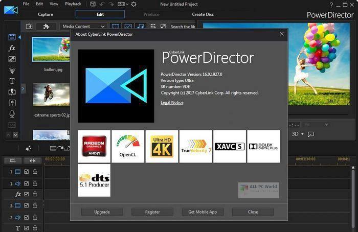 CyberLink PowerDirector Ultimate 19.0 One-Click Download